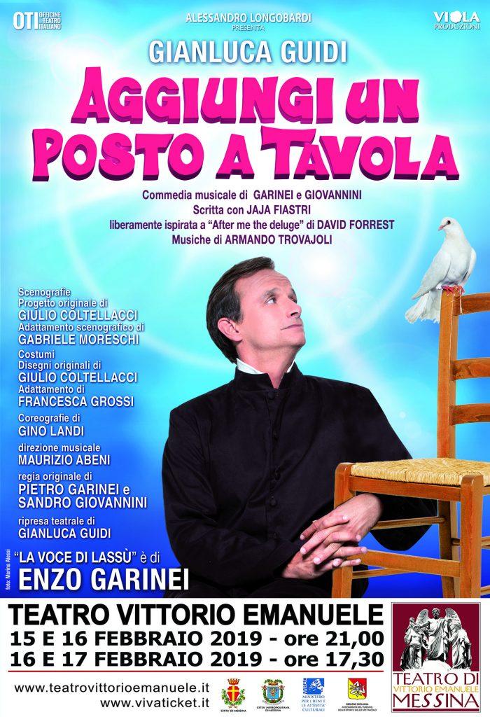 Al teatro vittorio emanuele il musical aggiungi un posto a tavola imgpress - Aggiungi un posto a tavola musical ...