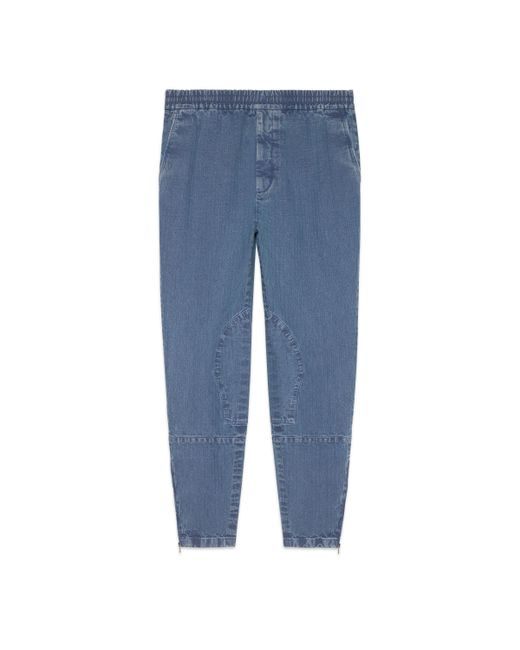 Lyst Gucci_Denim Trousers 39
