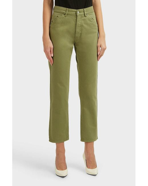 Lyst Jacquemus_Le Jean straight-leg jeans