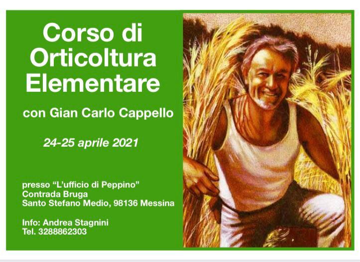 corso di orticultura elementare